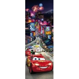 Poster Carros Faisca Macqueen Tokio da Disney