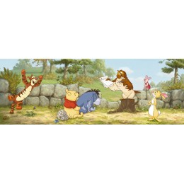 Mural Parede Winnie Lesson One da Disney