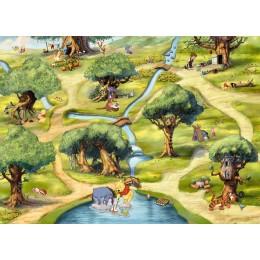 Mural Parede Winnie the Pooh da Disney
