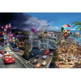 Papel de Parede Carros Faisca Macqueen World da Disney