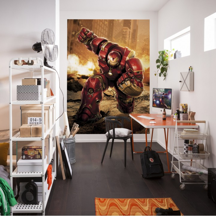 Mural Papel de Parede Avengers Hulkbuster