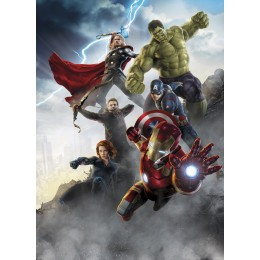 Mural Papel de Parede Avengers Age of Ultron da Marvel