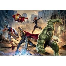 Mural Papel de Parede Avengers Street Rage da Marvel