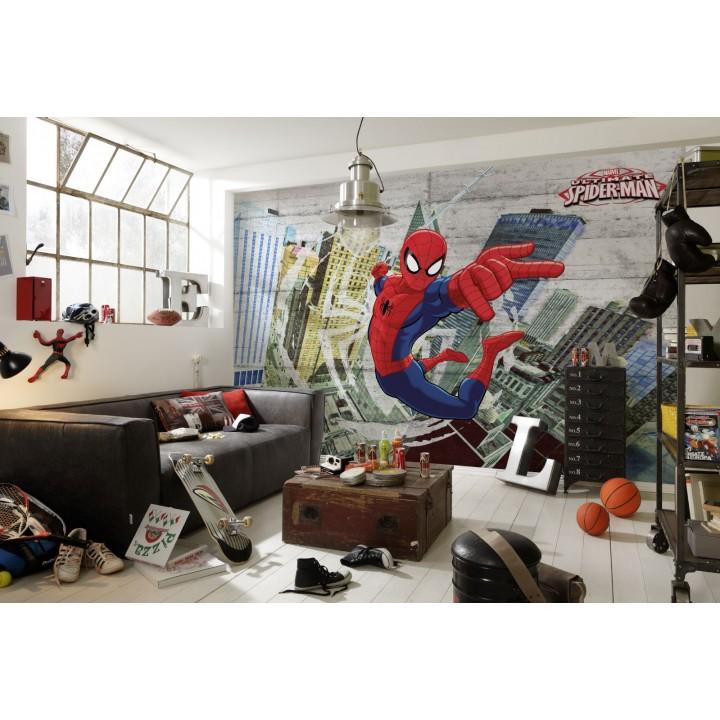 Mural Papel de Parede Spider-Man Concrete da Marval
