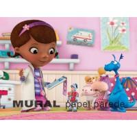 Dra Brinquedos Painel para Festas de Aniversário
