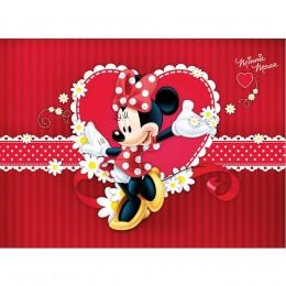 Painel Minnie Vermelho para Festas de Aniversário