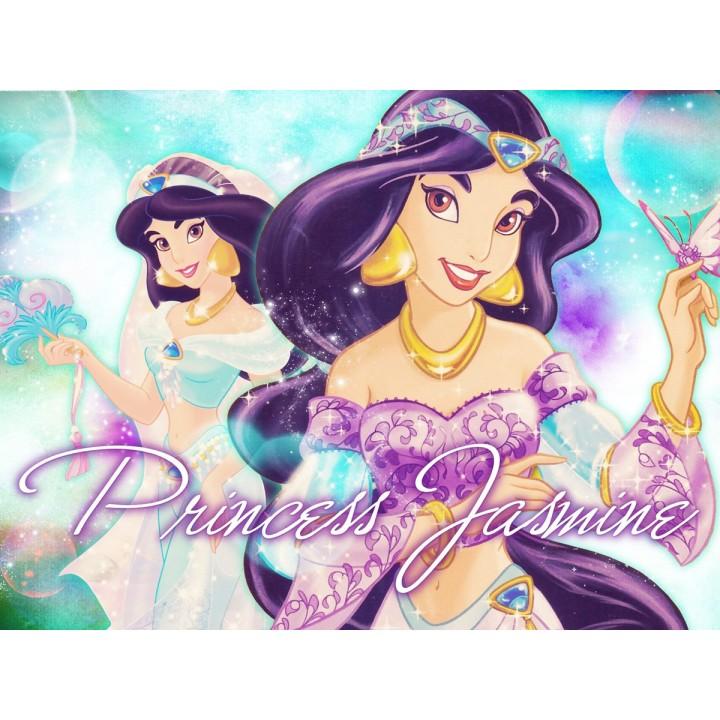Princessa Jasmine Painel para Festas de Aniversário mod 1