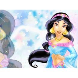 Princessa Jasmine Painel para Festas de Aniversário mod 2