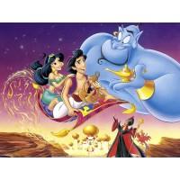 Princessa Jasmine Painel para Festas de Aniversário mod 3