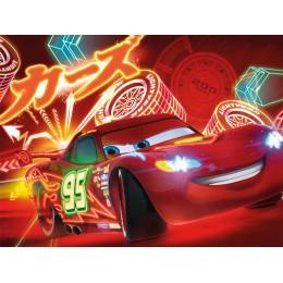 Painel Carros Faisca Mackeen para Festas de Aniversário