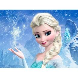 Painel Frozen para Festas de Aniversário