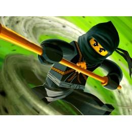 Painel Ninjago para Festas de Aniversário