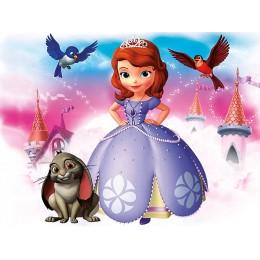 Painel Princessa Sofia para Festas de Aniversário