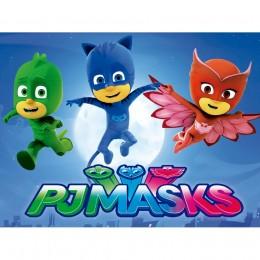 PJ Masks Painel para Festas de Aniversário