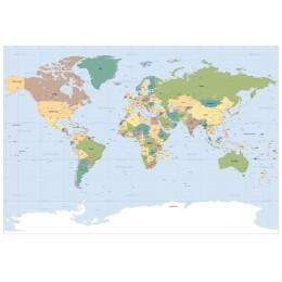 Mural de Parede Mapa do Mundo