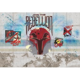Mural Papel de Parede Star Wars Rebels Wall