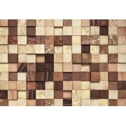 Mural Papel de Parede Textura de Madeira Lumbercheck