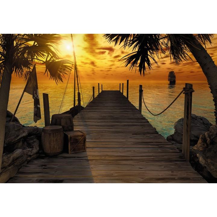 Mural Papel de Parede Treasure Island