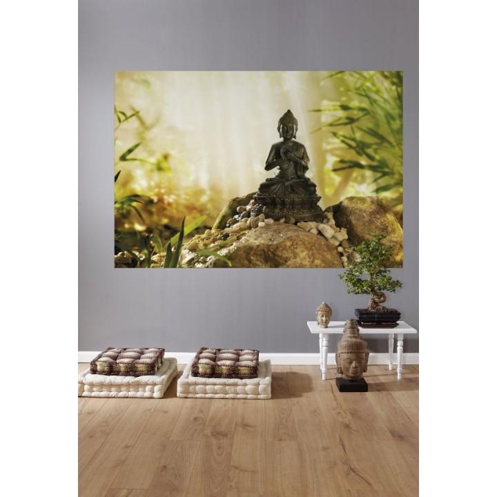 Mural Papel de Parede Buddha